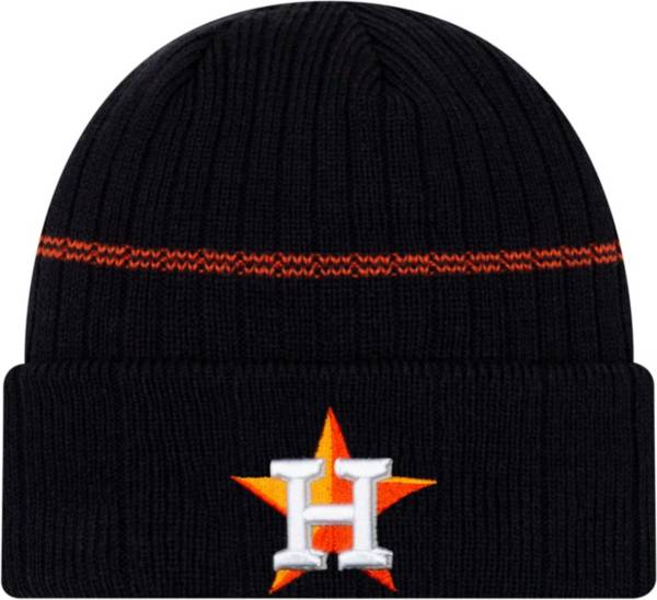 New Era Men's Houston Astros Navy Sports Knit Hat product image
