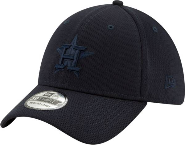 New Era Men's Houston Astros Navy 39Thirty Perftone Stretch Fit Hat product image