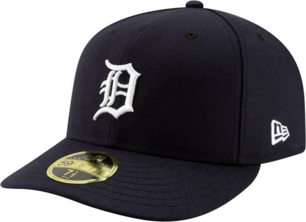 New Era Men's Detroit Tigers 59Fifty Home Navy Low Crown Fitted Hat product image