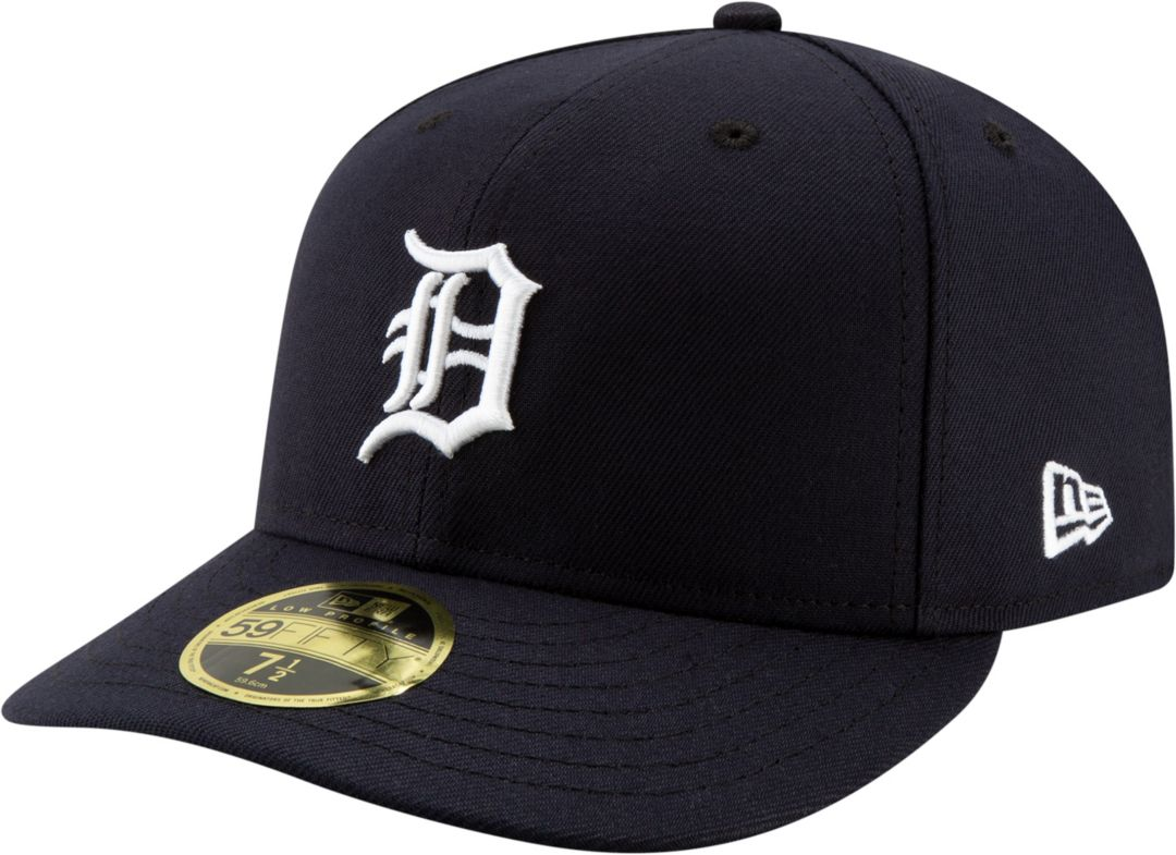 391888ae New Era Men's Detroit Tigers 59Fifty Home Navy Low Crown Fitted Hat ...