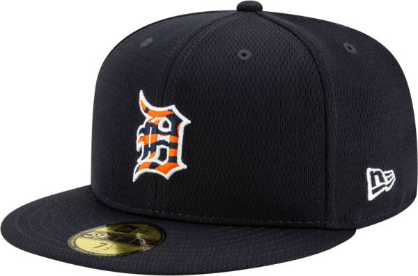 New Era Men's 2020 Spring Training Detroit Tigers Navy 59Fifty Authentic Fitted Hat product image