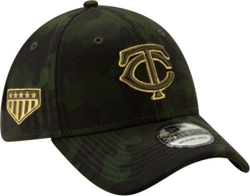 best website 9582d 6614b New Era Men s Minnesota Twins 39Thirty Armed Forces Stretch Fit Hat.  noImageFound. Previous. 1. 2