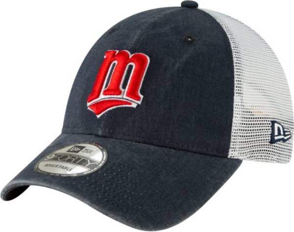 New Era Men's Minnesota Twins 9Forty Cooperstown Trucker Adjustable Hat product image