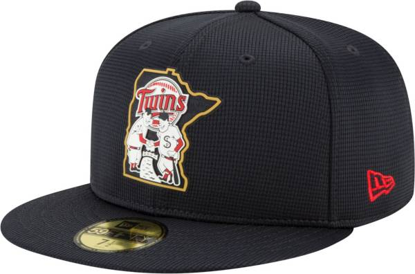 New Era Men's Minnesota Twins Navy 59Fifty Clubhouse Fitted Hat product image