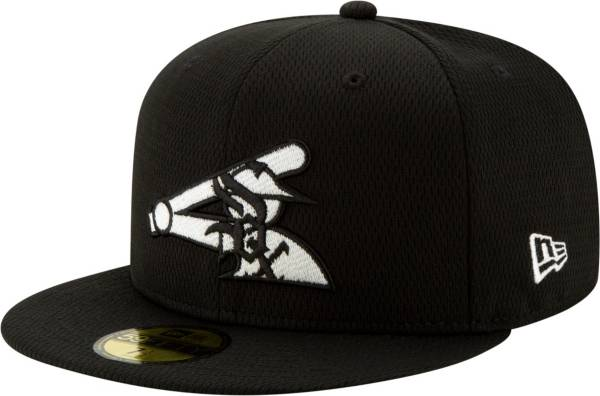 New Era Men's Chicago White Sox 59Fifty Black Batting Practice Fitted Hat product image
