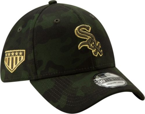 3d2033593 New Era Men's Chicago White Sox 39Thirty Armed Forces Stretch Fit Hat.  noImageFound. Previous