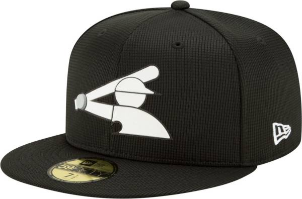 New Era Men's Chicago White Sox Black 59Fifty Clubhouse Fitted Hat product image