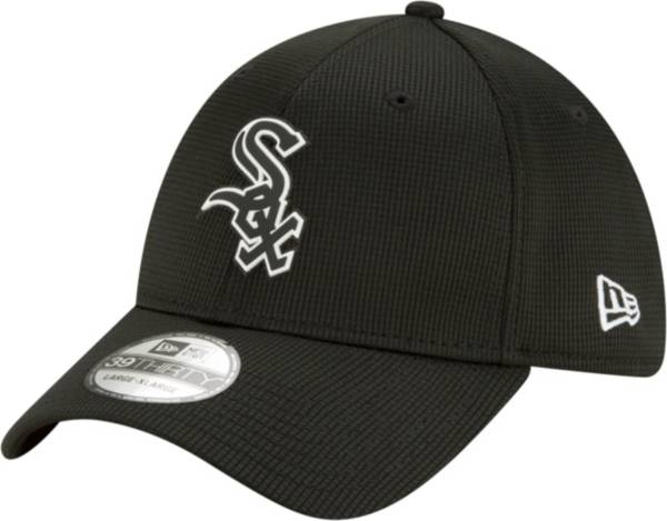 New Era Men's Chicago White Sox Black 39Thirty Clubhouse Stretch Fit Hat product image