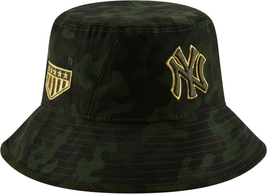3e16155d New Era Men's New York Yankees Armed Forces Bucket Hat. noImageFound.  Previous
