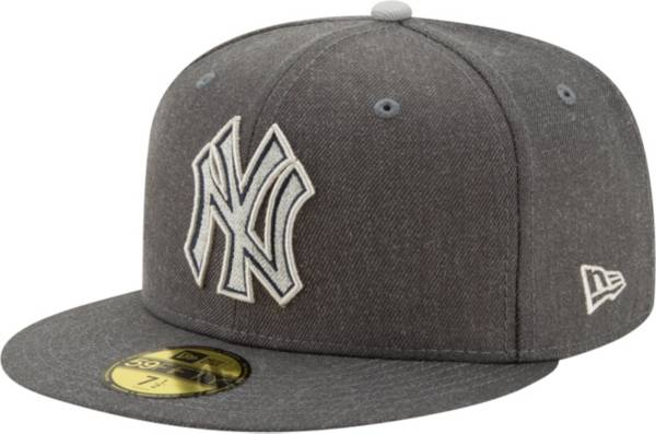 New Era Men's New York Yankees 59Fifty Gray Heather Wool Fitted Hat product image