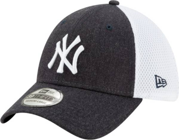 New Era Men's New York Yankees Navy 39Thirty Heather Neo Stretch Fit Hat product image