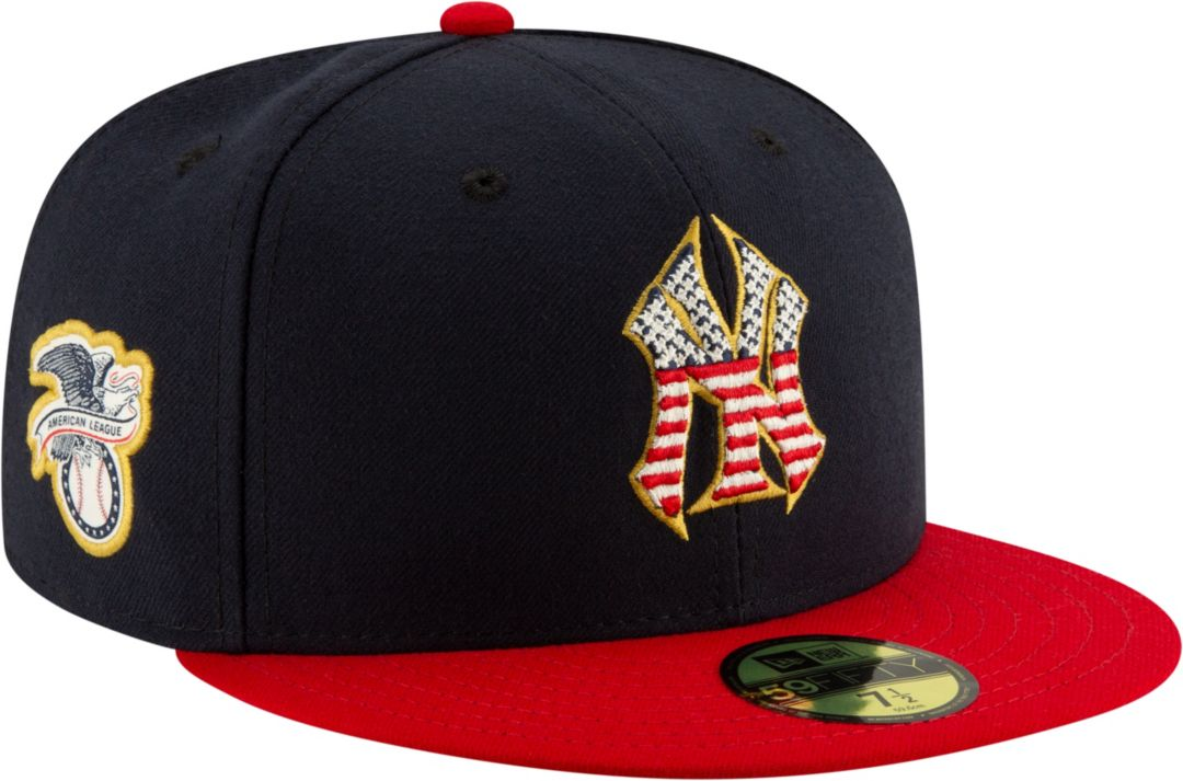 cb2866f0 New Era Men's New York Yankees 59Fifty 2019 4th of July Fitted Hat
