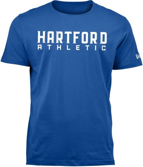 New Era Men's Hartford Athletic Wordmark Royal T-Shirt product image