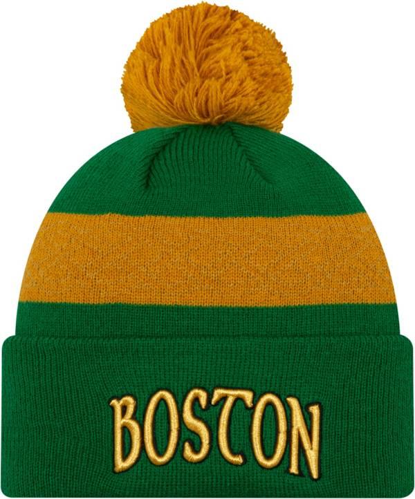 New Era Men's Boston Celtics City Edition Knit Hat product image