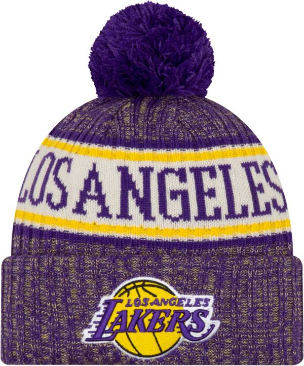 New Era Men's Los Angeles Lakers Sports Knit Hat product image