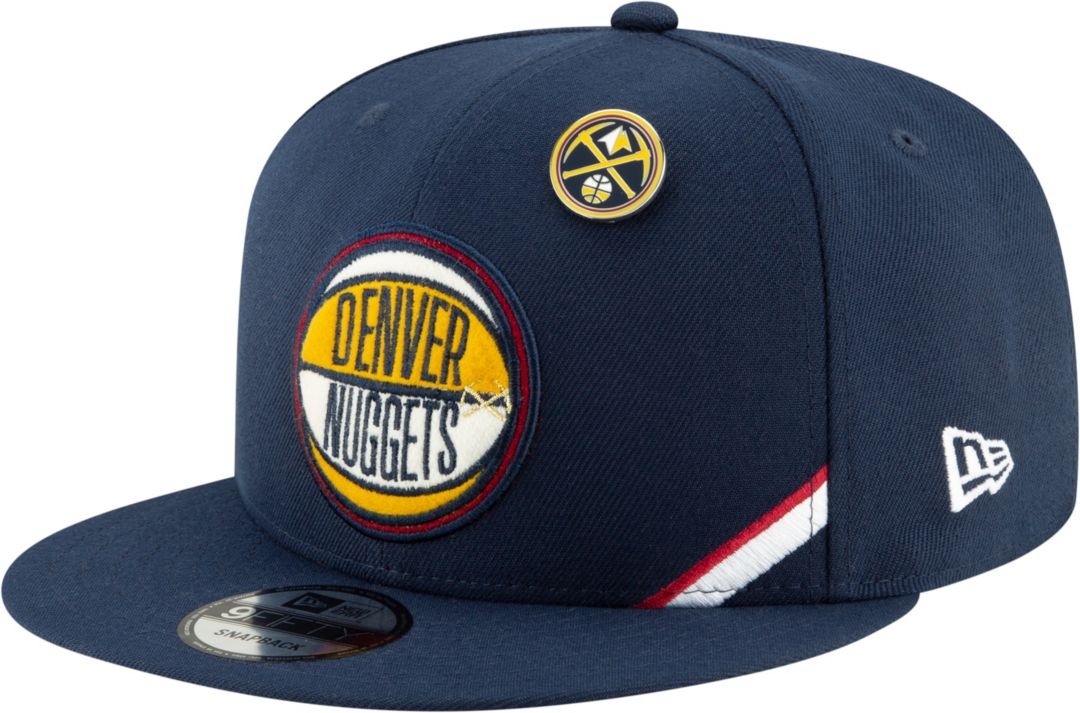 wholesale dealer f0fbb 076e8 New Era Men s Denver Nuggets 2019 NBA Draft 9Fifty Adjustable Snapback Hat.  noImageFound. Previous
