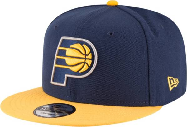 New Era Men's Indiana Pacers 9Fifty Adjustable Snapback Hat product image