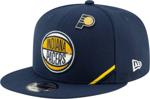 New Era Men's Indiana Pacers 2019 NBA Draft 9Fifty Adjustable Snapback Hat product image
