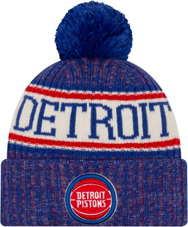 New Era Men's Detroit Pistons Sports Knit Hat product image