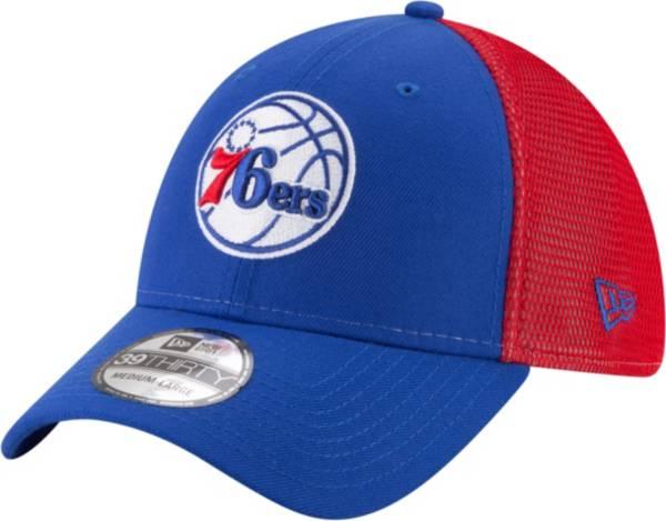 New Era Men's Philadelphia 76ers 39Thirty Stretch Fit Hat product image
