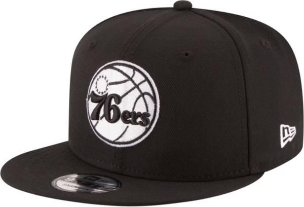 New Era Men's Philadelphia 76ers 9Fifty Adjustable Snapback Hat product image