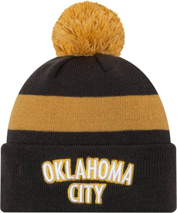 New Era Men's Oklahoma City Thunder City Edition Knit Hat product image