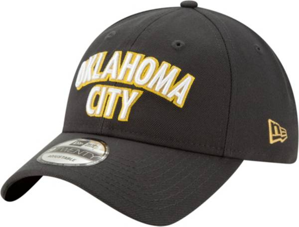 New Era Men's Oklahoma City Thunder 9Twenty City Edition Adjustable Hat product image
