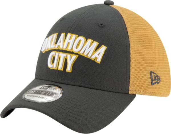 New Era Men's Oklahoma City Thunder 39Thirty City Edition Stretch Fit Hat product image