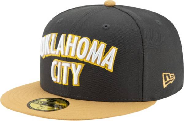 New Era Men's Oklahoma City Thunder 59Fifty City Edition Fitted Hat product image