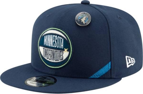 New Era Men's Minnesota Timberwolves 2019 NBA Draft 9Fifty Adjustable Snapback Hat product image