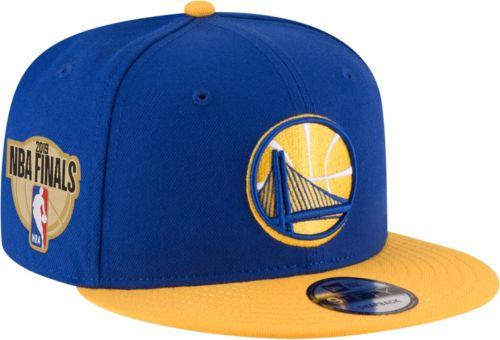 buy online 0e69c c56fc New Era Men s 2019 NBA Finals Golden State Warriors 9Fifty Royal Adjustable Snapback  Hat