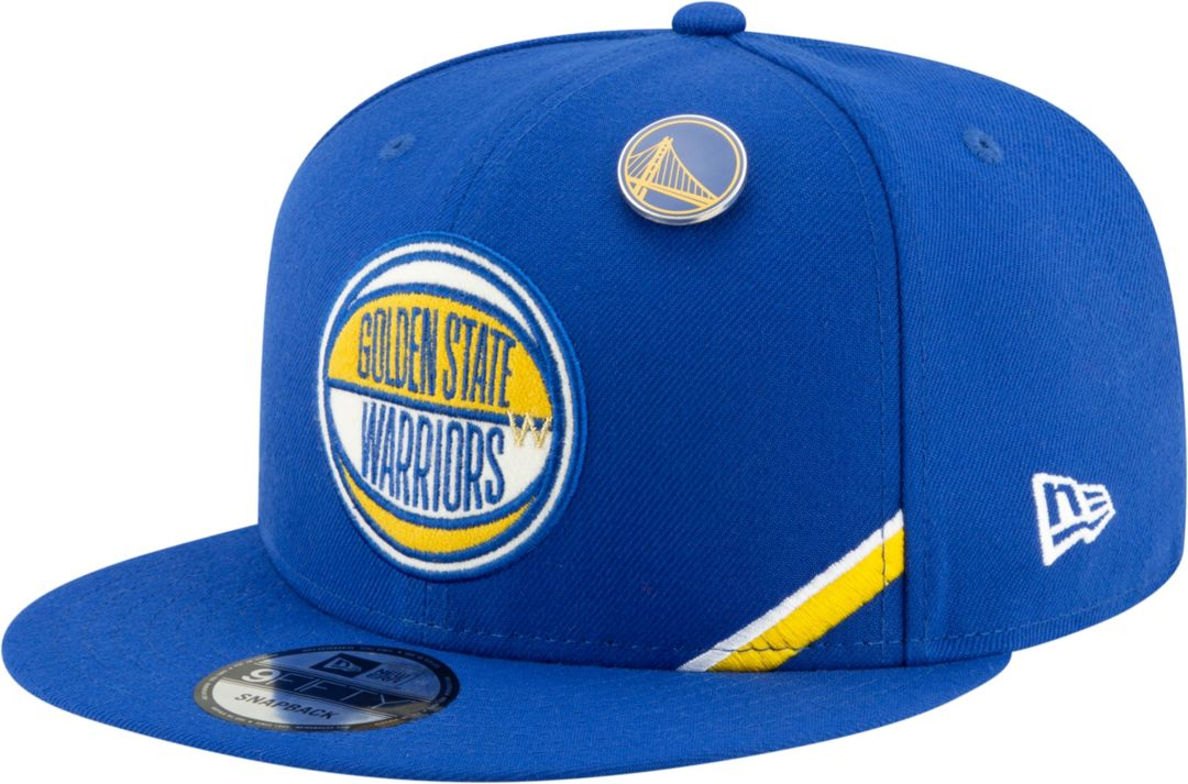 914961b53b2179 New Era Men's Golden State Warriors 2019 NBA Draft 9Fifty Adjustable  Snapback Hat. noImageFound. Previous
