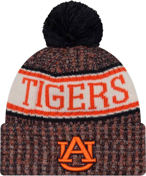 New Era Men's Auburn Tigers Blue Sport Knit Beanie product image