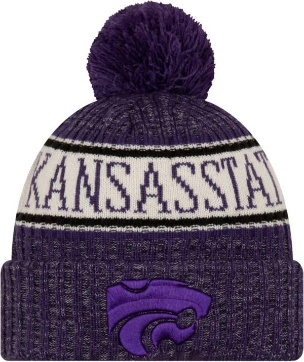 New Era Men's Kansas State Wildcats Purple Sport Knit Beanie product image
