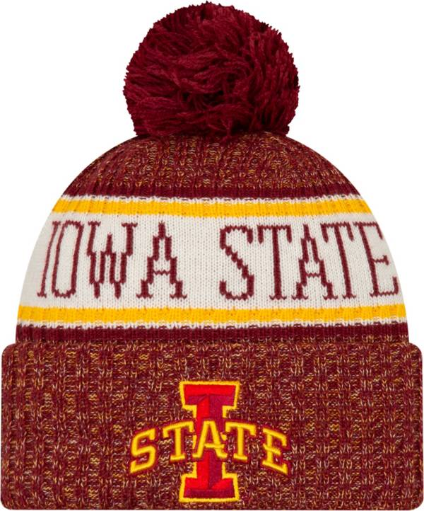 New Era Men's Iowa State Cyclones Cardinal Sport Knit Beanie product image