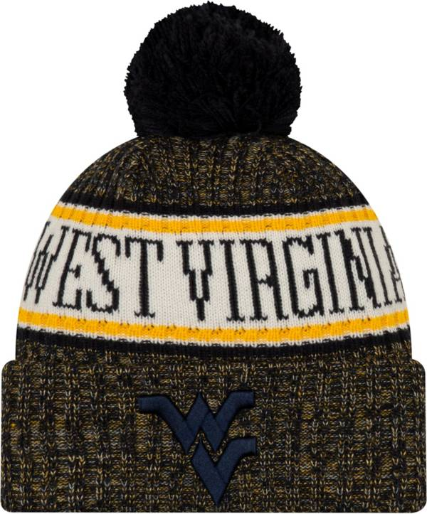 New Era Men's West Virginia Mountaineers Blue Sport Knit Beanie product image