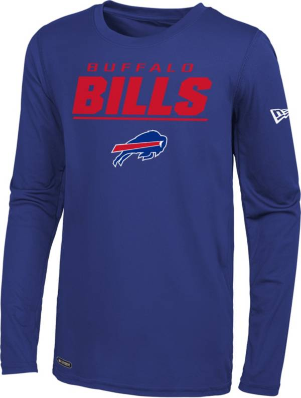 New Era Men's Buffalo Bills Combine Royal Long Sleeve Shirt product image