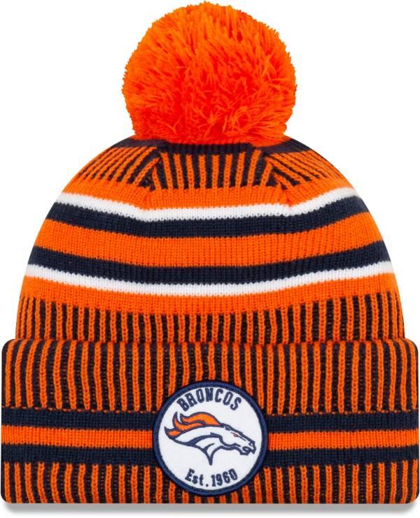 New Era Men's Denver Broncos Sideline Home Sport Pom Knit product image