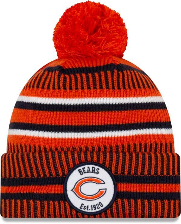 New Era Men's Chicago Bears Sideline Home Sport Pom Knit product image