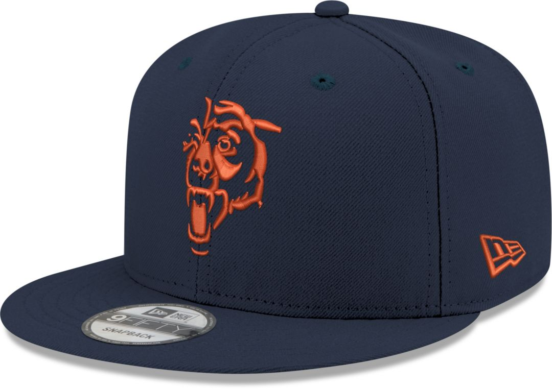 252ef3ac24d919 New Era Men's Chicago Bears Elemental 9Fifty Adjustable Navy Hat.  noImageFound. Previous