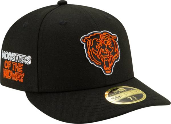 New Era Men's Chicago Bears 2020 NFL Draft 59Fifty Fitted Black Hat product image