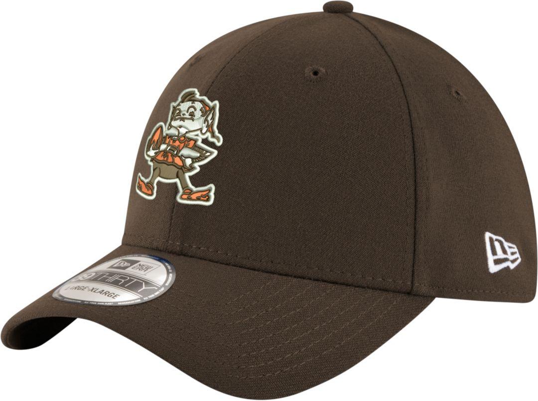 2adad80b334d03 New Era Men's Cleveland Browns Throwback Team Classic 39Thirty Brown  Stretch Fit Hat. noImageFound. Previous