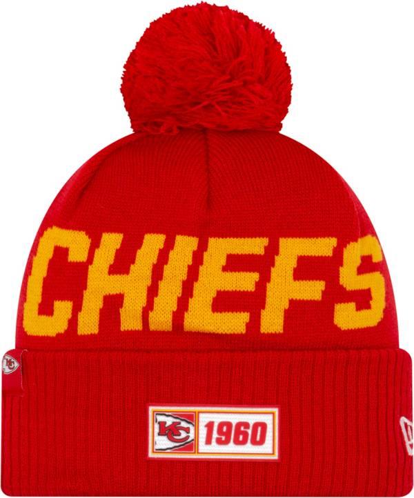 New Era Men's Kansas City Chiefs Sideline Road Sport Pom Knit product image