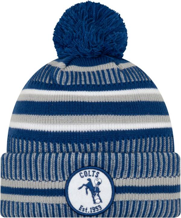 New Era Men's Indianapolis Colts Sideline Home Sport Pom Knit product image
