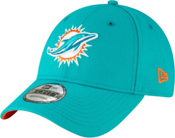 New Era Men's Miami Dolphins 9Forty Aqua Adjustable Hat product image