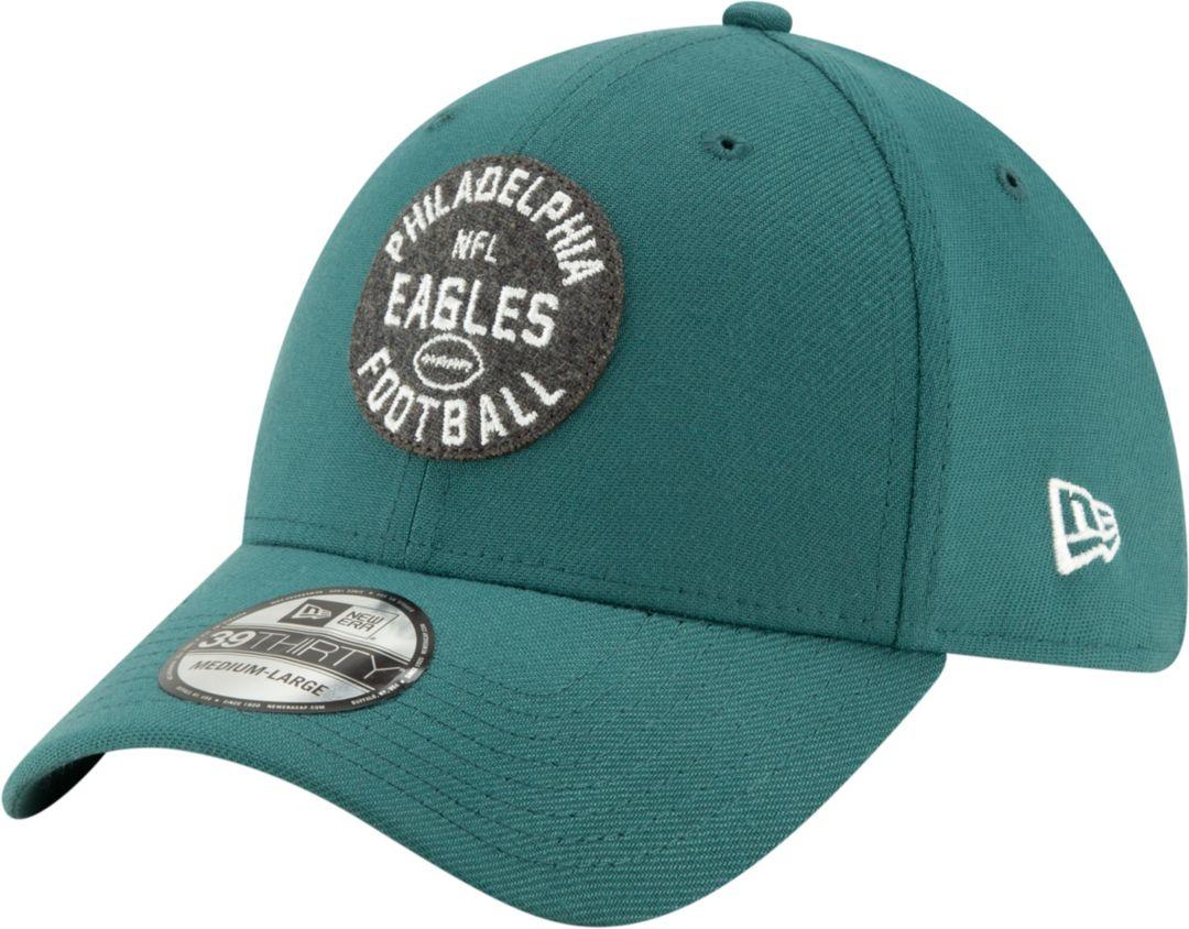 53154cb9 New Era Men's Philadelphia Eagles Sideline 1930 Home 39Thirty Stretch Fit  Hat