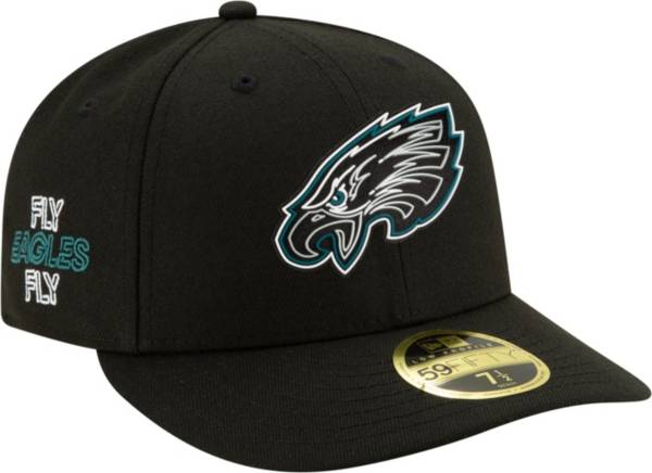 New Era Men's Philadelphia Eagles 2020 NFL Draft 59Fifty Fitted Black Hat product image