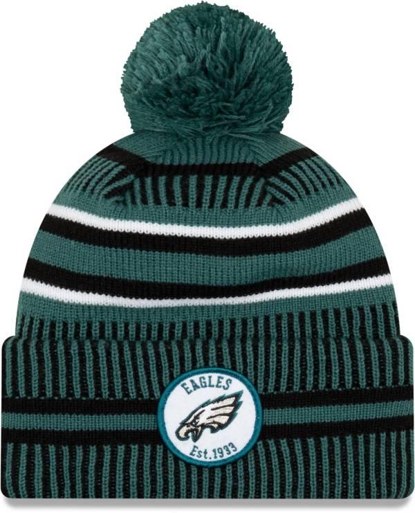 New Era Men's Philadelphia Eagles Sideline Home Sport Pom Knit product image