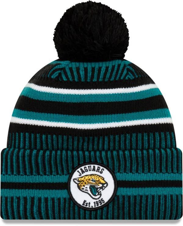 New Era Men's Jacksonville Jaguars Sideline Home Sport Pom Knit product image