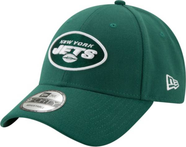 New Era Men's New York Jets 9Forty Green Adjustable Hat product image